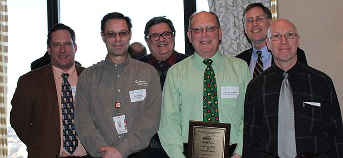 Chiller Plant Upgrade at Advocate Illinois Masonic Medical Center wins Design Award