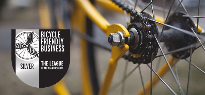 G/BA Recognized as Bicycle Friendly Business