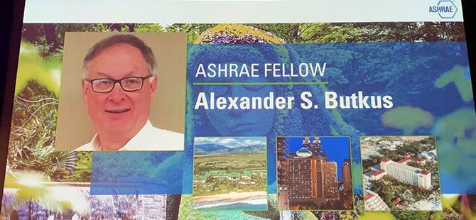 Butkus Named Fellow of ASHRAE