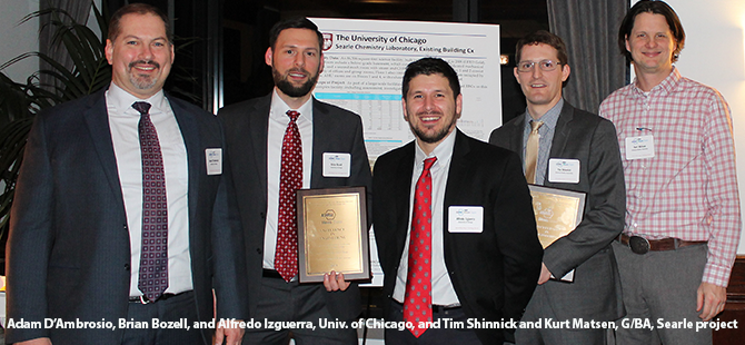 Nexant/ComEd and ASHRAE Illinois honor G/BA projects