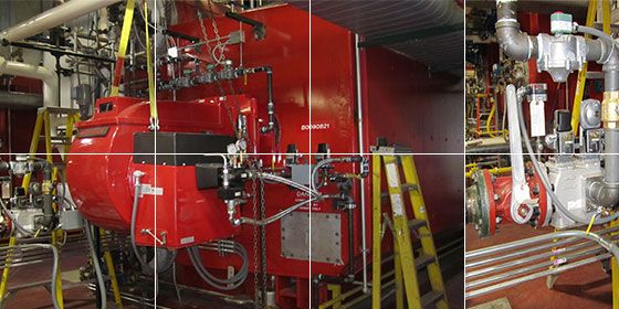 Boiler Burner Replacements and Plant Optimization